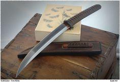 kwaiken knife | Thread: American Tanto/Kwaiken in W2 and Amboyna