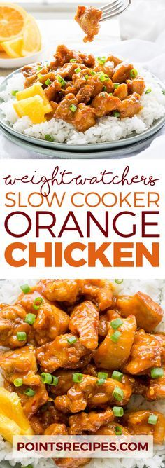 Slow Cooker Orange Chicken (Weight Watchers) This was good! Next time I would add some onion and green pepper as well as something for a bit of spice.