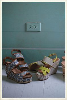 Sky Diamond Paz shoes featured in Anthropologie Catalog