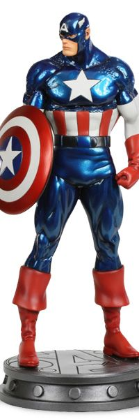 Captain America Avengers Statue (Bowen)    Sideshow Collectibles is proud to present the outstanding Marvel statues and busts created by Bowen Designs. These high-quality polystone, detailed collectibles feature your favorite Marvel characters as they appear in a wide range of comics.