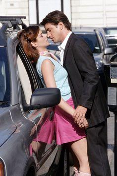 Dermot Mulroney, Debra Messing. one of my favorite movies Wedding date