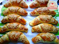undefined Meat Recipes, Cooking Recipes, Ham And Cheese, Ciabatta, Dessert Recipes, Desserts, Pretzel Bites, Bagel, Food And Drink