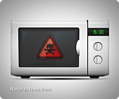 "*Microwaves promote death* Microwaves ""nuke"" your food at a cellular level. This results in a cell-by-cell ""nuking"" of the food (such as broccoli, carrots, etc.), causing the near-total molecular decomposition of the vitamins and phytonutrients that promote disease.  http://www.naturalnews.com/039404_microwave_ovens_vitamins_nutrients.html#"