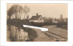 RP Soham Unusual Windmill & River by Hayward of Soham Ely & Newmarket Cambs | eBay