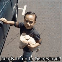 Ready for Disneyland? #Unexpected