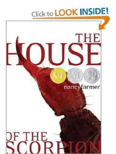 """The House of the Scorpion: Nancy Farmer: This is an interesting science fiction book that explores the possible moral implications of cloning. If a man were wealthy enough to continually clone himself, could he harvest the organs of his clones to create an endless life for his own body? The main character in this story has been created for the sole purpose of being """"harvested"""" for just such a rich man. Can he escape his fate as a human sacrifice or is he doomed to die for the sake of El…"""