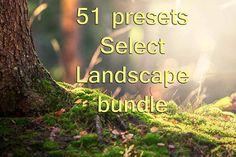 51 Select Landscape Lightroom Presets bundle by TimelessPresets