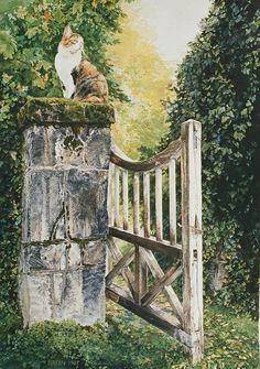 Wonderful detail (Breen Bergstrome watercolor)