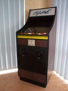Arcade Stick, Arcade Room, Lowboy, Game Room Design, Arcade Machine, Pinball, Arcade Games, Video Game, Cabinets