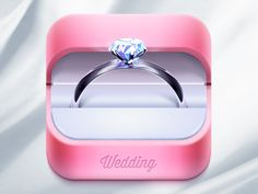 Wedding App icon | Designer: Ampeross