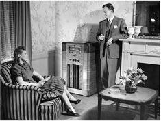 A couple listens to FDR's Fireside Chat. https://www.google.co.uk/search?q=A+couple+listens+to+FDR's+Fireside+Chat&biw=1366&bih=622&source=lnms&tbm=isch&sa=X&ei=Wmb9VPWoK8TnavKFgfAB&ved=0CAcQ_AUoAg