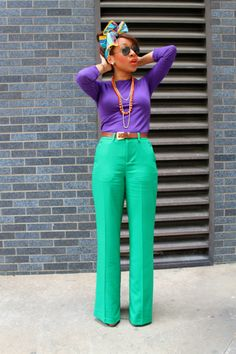 blackandkillingit:    wearcolor:    Mattieologie    Black Girls Killing ItShop BGKI NOW