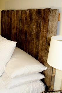 I stumbled across some pallets one day and started thinking about ways to repurpose them. My first thought was to create a headboard for ou...