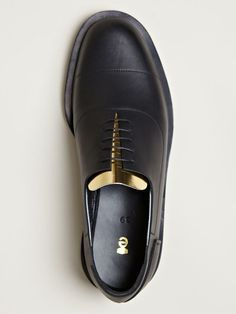 Ets. Callatay Mens Stitched Oxford Pocket Shoes.
