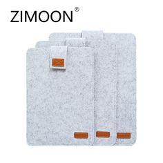 Buy Zimoon Felt Liner Sleeve Laptop Bag Notebook Case Computer Bag Smart Cover for Macbook Air Pro Retina Macbook Air Pro, Macbook Air 11 Inch, Macbook 15, Leather Belt Buckle, Faux Leather Belts, Mobile Accessories, Laptop Accessories, Sleeve Packaging