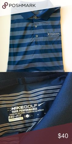 Nike Golf Dri-Fit Polo Shirt In like new condition! Tour Performance Dr-Fit Nike Shirts Polos