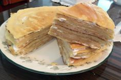 crape cake  homemade~~