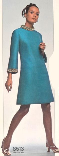 Vintage pattern books 1968-69: bygonefashion More