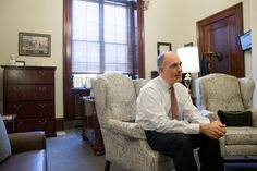 Senator Bob Casey was overdressed for the resistance. But he seems to have made it in time.  On the January evening of President Trump's first executive order banning travel from several predominantly Muslim countries, Mr. Casey — an understated, conspicuously moderate Democrat from Pennsylvania — darted early from a Philadelphia Orchestra ball, still in his white tie and tails, to be at the airport where families were being detained.