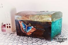 Lockable, Chest/Trinket Box 20cm X 14cm X 12,5cm