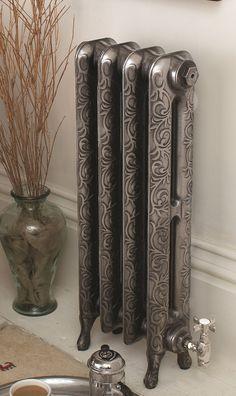 Cast iron radiators - polish up nicely.