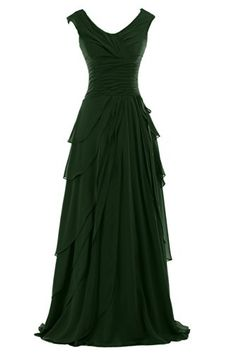 Sunvary Woman A-line Ruffled Chiffon Mother of the Bride Dresses Bridesmaid Dresses Prom Gowns for Evening Party Long US Size 14- Dark Green Sunvary http://www.amazon.com/dp/B00M8QT5DW/ref=cm_sw_r_pi_dp_Bwnavb17CGC5M