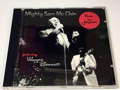 Mighty Sam McClain Featuring Wayne Bennett Live in Japan Music CD