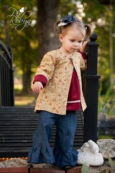Whimsy Couture Sewing Pattern to make REVERSIBLE GIRLS JACKETS, $9.00