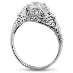 The Cameron Ring - the detail in the gallery on this one is so romantic!