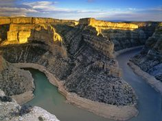 Bighorn River Canyon in Carbon County, Montana, USA Photographic Print by Chuck Haney at AllPosters.com