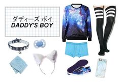 """Daddy's pretty boy"" by daddys-baby-boy on Polyvore featuring Leg Avenue, Diesel, Vans, NecroLeather, Swankie Blankie, Casetify, men's fashion and menswear"