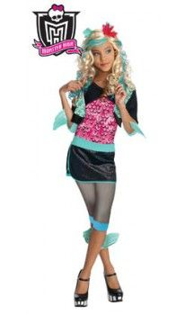 disfraz de monster high lagoona blue para nia