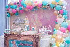 Madeleine's Vintage Nursery Rhymes Themed Party – Dessert spread