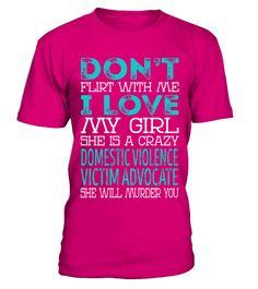Domestic Violence Victim Advocate violin T-shirt