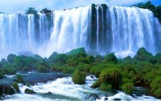 There are a number of small and big waterfalls varies by their height, view, and force of fall. Here are 7 beautiful waterfalls in the world.
