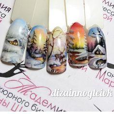 #naildesign #nailart #winternailart #christmasnail    Дизайн ногтей тут! ♥Фото ♥Видео ♥Уроки маникюра