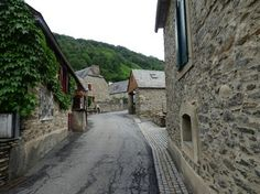 J'arrive enfin à Loudenvielle. Joli petit village.