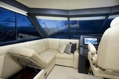 Maritimo M65 interior #auckland_on_water_boat_show #boat_show #aowbs www.auckland-boatshow.com