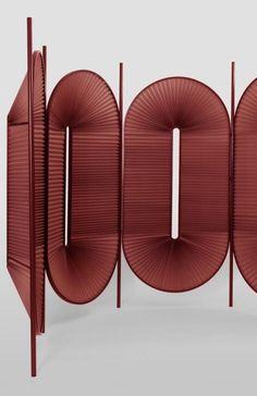 Room divider Minima Moralia by Dante Weird Furniture, Furniture Design, Modern Art Deco, Modern Design, Interior Architecture, Interior Design, Fashion Room, Business Design, Dividers