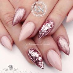 Romantic Pink Nail Designs you Can Try
