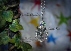 Elemental Earth Fae by WitchsChamber on Etsy