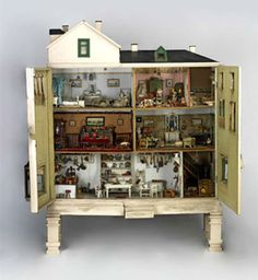 Bethnal Green Museum of Childhood for doll's house and sweet old toys...
