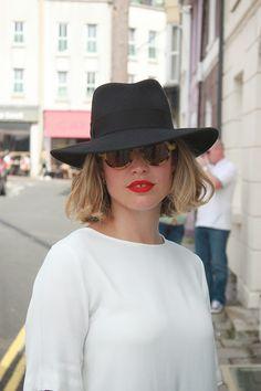 Style Memos wearing Zanzan 'Mizaru' sunglasses from www.zanzan.co.uk