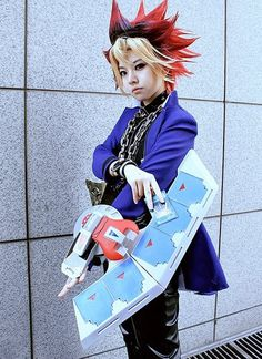 cosplays: Yugi from Yu-Gi-Oh! Anime Cosplay, Epic Cosplay, Amazing Cosplay, Cosplay Outfits, Boy Costumes, Cosplay Costumes, Coldplay, Halloween Cosplay, Halloween Costumes