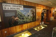 Centro de Interpretación de Somiedo y el oso, Asturias, España.