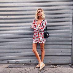 Catch me if you can @tara_jarmon #dress by adenorah