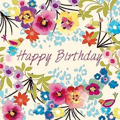 Happy Birthday Images for Her Happy Birthday Flowers Images, Birthday Images For Her, Happy Birthday Floral, Happy Birthday Pictures, Birthday Love, Birthday Gifts, Birthday Blessings, Birthday Wishes Quotes, Happy Birthday Messages