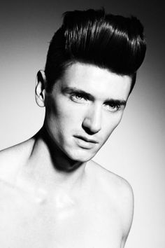 Homme Collection by Saco, Photos: David Oldham #men #menshair #hair | See more on www.salongmagazine.ca