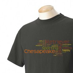 Chesapeake Bay Retriever Garment Dyed Cotton by WryToastDesigns, $24.99