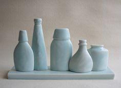 "Still Life Bottles"" Maggie Williams 2016 Clay Creations, Still Life, Bottles, The Creation"